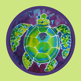 Turtle Bubble on Sherbert Ocean by Kelly     ZumBerge