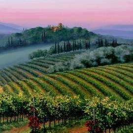 Michael Swanson - Tuscan dusk