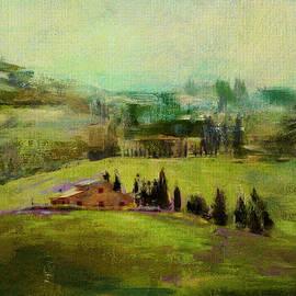 Tuscan Farmhouse by Carla Parris