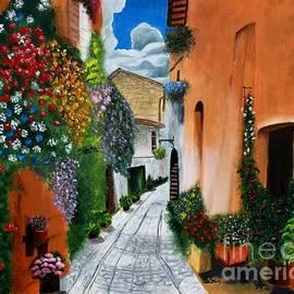 Bev Conover - Tuscan Street Scene
