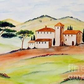 Tuscany-again and again by Christine Huwer