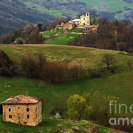 Tuscany Landscape 3 by Bob Christopher
