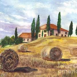 Tuscany Villa by Carol Wisniewski