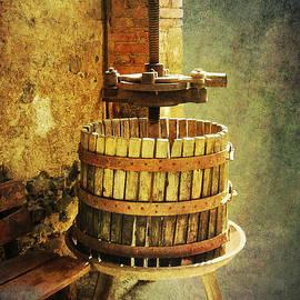 Tuscany Wine Barrel by Sandra Selle Rodriguez