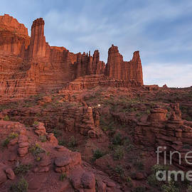 Mike Cavaroc - Twilight at Fisher Towers