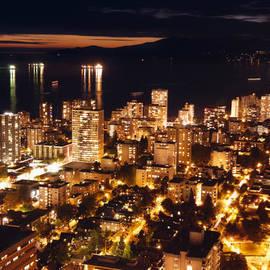 Amyn Nasser - Twilight English Bay Vancouver MDLXVII