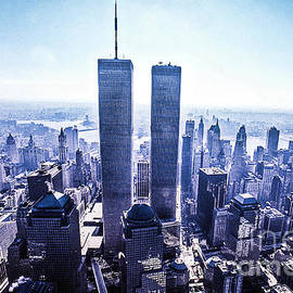 Twin Towers Year 2000 by Kim Lessel