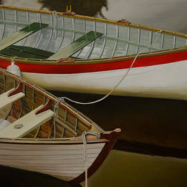 Two Boats by Thu Nguyen