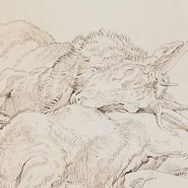 Sir Edwin Landseer - Two Dead Stags