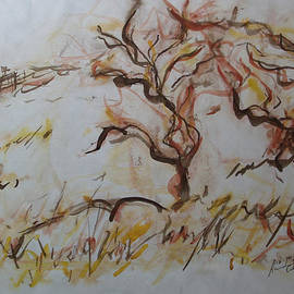 Esther Newman-Cohen - Two Olive Trees