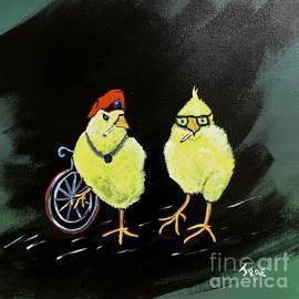 Two Smokin Hot Chicks by Janice Pariza