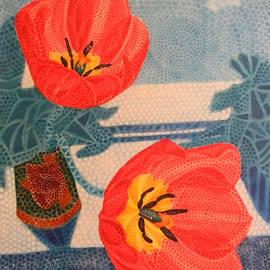 Adel Nemeth - Two Tulips