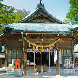 Typical Japanese Shinto shrine entrance by David Hill