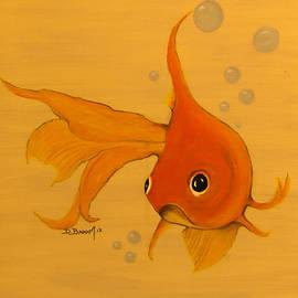 Happy Goldfish Friends 2 by Dawn Broom