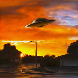 UFO by Gregory Dyer