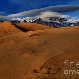Adam Jewell - UFOs Over Sand Dunes