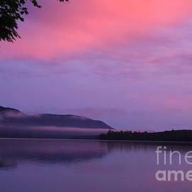Umbagog June Lake Sunset  by Neal Eslinger