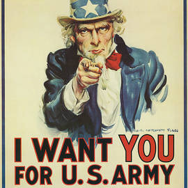 Uncle Sam Wants You by Underwood Archives