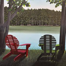 Kenneth M  Kirsch - Under Muskoka Trees