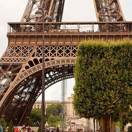 Under the Eiffel by Lindley Johnson