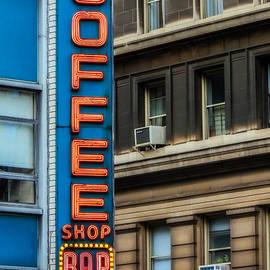 Jon Woodhams - Union Square Coffee Shop Sign