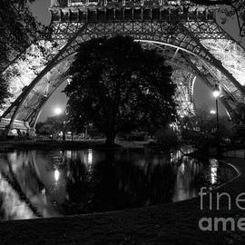 Unique View of Eiffel Tower by Timothy Hacker