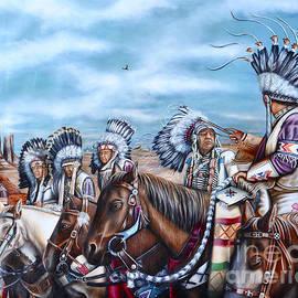 United Chiefs of America by Ruben Archuleta - Art Gallery