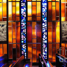 Vivian Christopher - United States Air Force Academy Cadet Chapel Detail