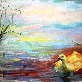 Untitled watercolor       by Mary Spyridon Thompson