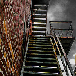 Up Fire Escape by Christy Usilton