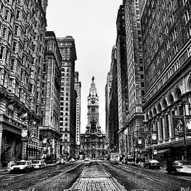 Urban Canyon - Philadelphia City Hall by Bill Cannon