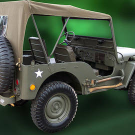 US Army Restored Jeep by Thomas Woolworth