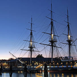 Juergen Roth - USS Constitution and Bunker Hill Monument