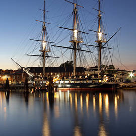 USS Constitution by Juergen Roth