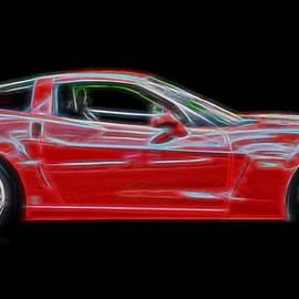Allen Beatty - A Very Red Corvette