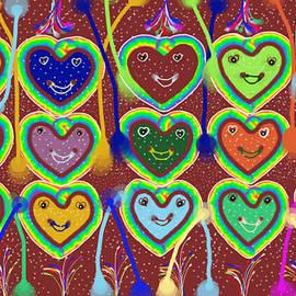 Valentine Hearts by Karunita Kapoor