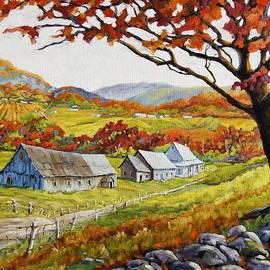 Valley View by Prankearts by Richard T Pranke