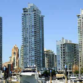 Vancouver Waterfront by Brenda Kean