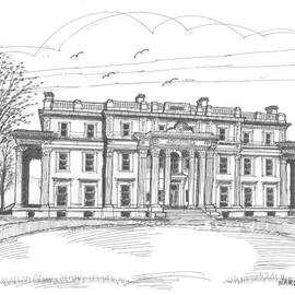 Vanderbilt Mansion by Richard Wambach