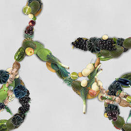 Organically Grown Green Yummy Bike by Maciek Froncisz