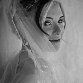 Veiled Black and White by Teresa Blanton