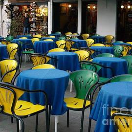 Venetian Cafe by Robin Maria Pedrero