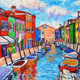 Ana Maria Edulescu - Venezia Colorful Burano