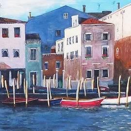 Venice Backwater by Nigel Radcliffe