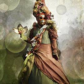 Barbara Orenya - Venitian Carnival-The Fall Muse
