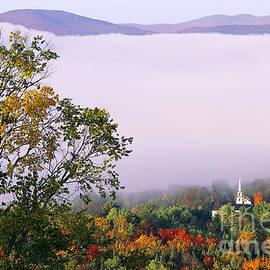 Vermont Autumn Morning by Alan L Graham