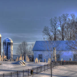 Joann Vitali - Vermont Snow Scene