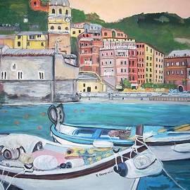 Teresa Dominici - Vernazza Harbor