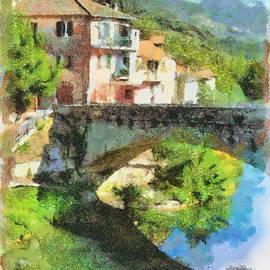 Vessalico View by Enrico Pelos