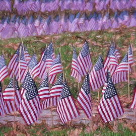 Joan Carroll - Veterans Day Display Color